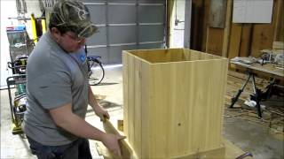 How To Build A Cedar Flower Box