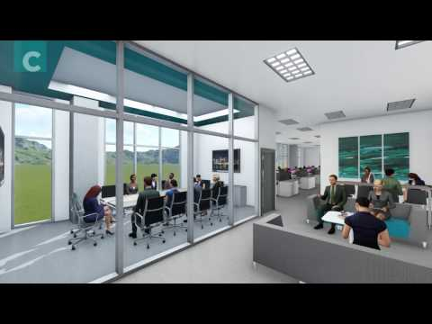 Modern Office Furniture | 3D Interior Walkthrough | Clear Design