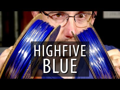 The BEST BLUE Filament For 3D Printing - Highfive Blue from Proto-Pasta!