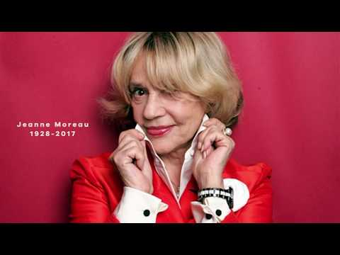 The loss of a timeless icon - Jeanne Moreau - Disparition d'une icone intemporelle