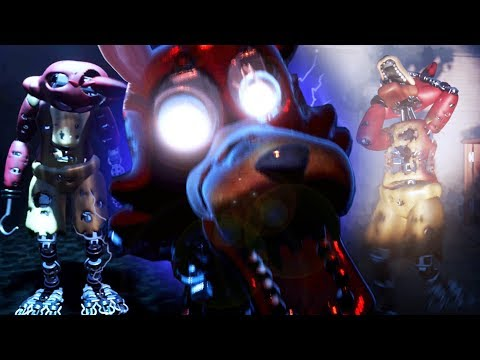 PLAYING FNAF GAMES IN DREAMS! (AMAZING)