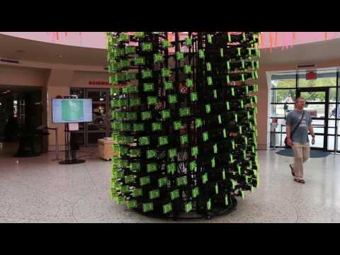 SeeMore: A Parallel Computing Sculpture from Virginia Tech