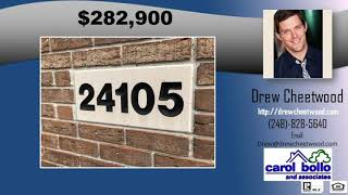 4 bedroom Woodhaven home with finished basement