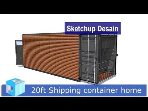 20ft Shipping container home