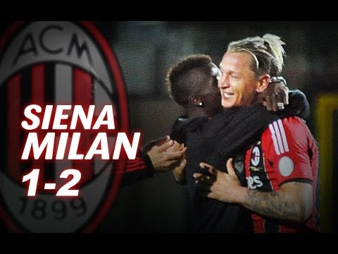 Siena-Milan 1-2