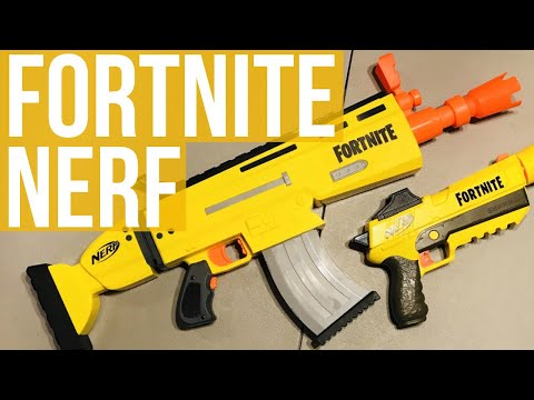 Nerf Fortnite Blasters Review and Firing Demo