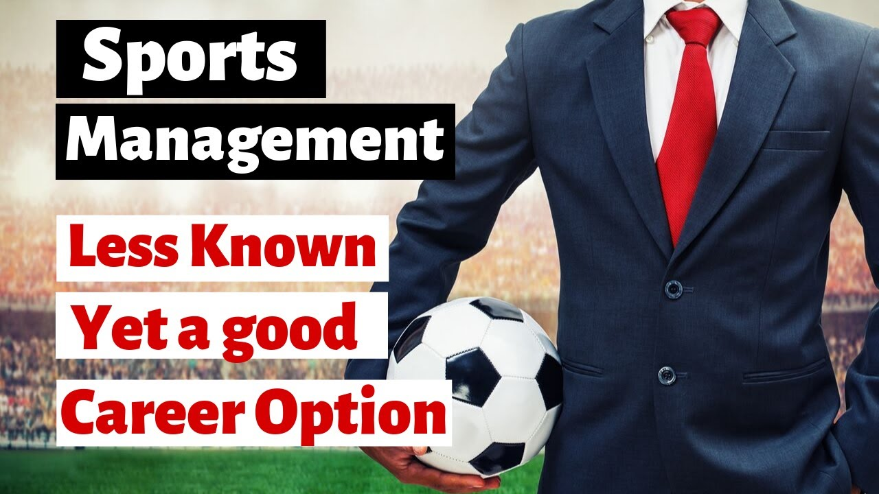 Career in Sports Management | Less Known yet a good career option