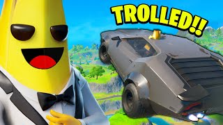 I Trolled Him with THE BIGGEST JUMP EVER in Fortnite