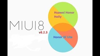 Multi MIUI 8.2.3 Stable ROM for Huawei Honor Holly [Honor 3C Lite] [Hol-U19]