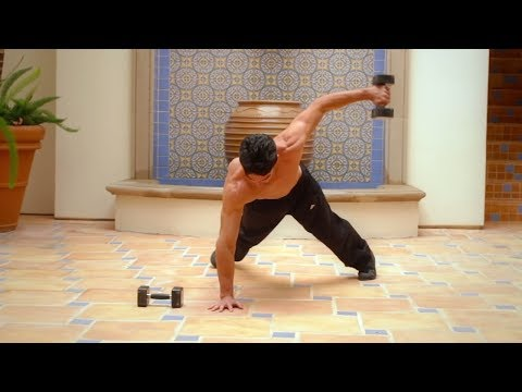 10 Best Advanced Plank Exercises with Dumbbells Core On Fire