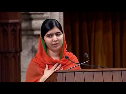 Malala Yousafzai made an honorary Canadian citizen