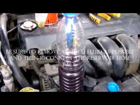Diy Toyota Corolla Steering Fluid Atf Renewal