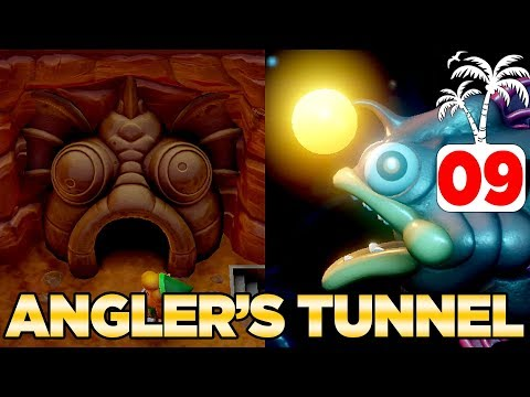 The Angler's Tunnel & Angler Fish In Link's Awakening Switch - 100% Walkthrough 09