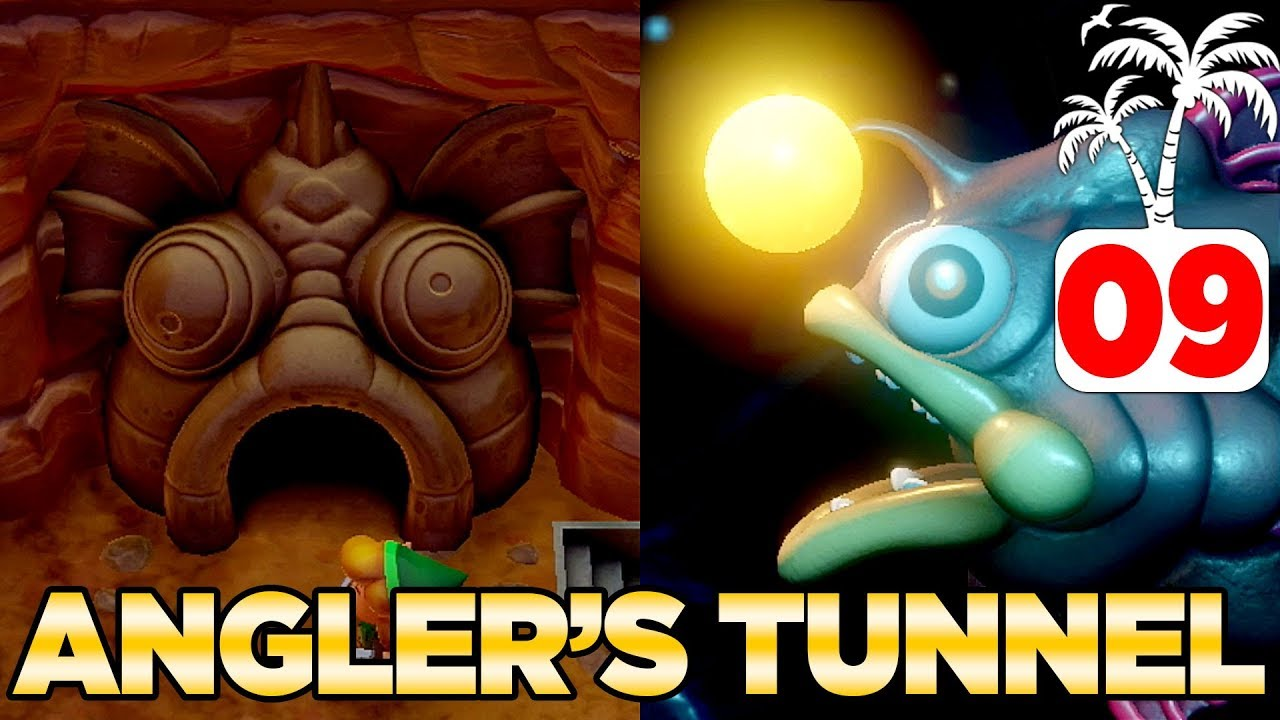 The Angler S Tunnel Angler Fish In Link S Awakening Switch 100 Walkthrough 09