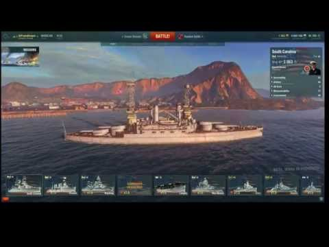 How to Play the USS South Carolina in World of Warships