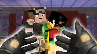 Realistic Minecraft: Batman Rescues Robin from JAIL?!?!