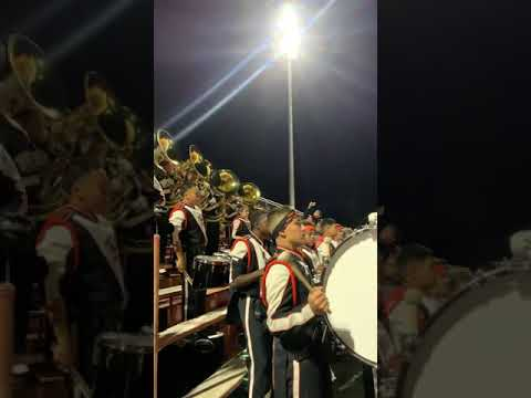 "Mike - Pittsburgh High School Marching Show Band plays ""I Got 5 On It"""