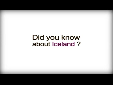 Did you know? - Iceland - Icelandic Business Culture video