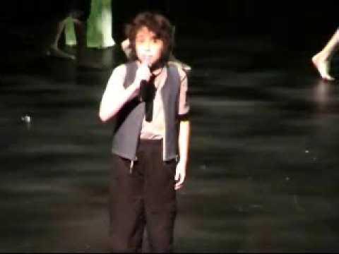 11yr old Sam - 'Tarakihi' - traditional NZ maori song
