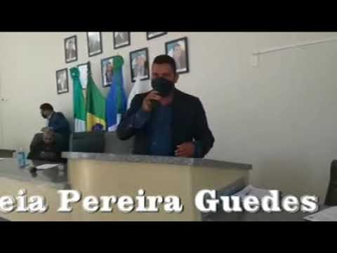 Vereador Oseia Guedes se manifesta contra o projeto banca de horas