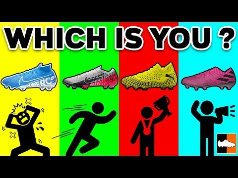 What The Colour Of Your Boots Say About You - Soccer Stereotypes