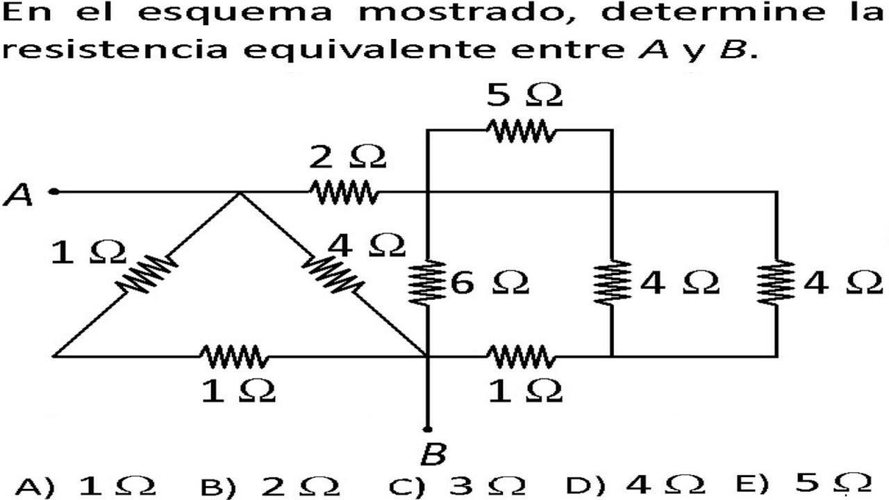 leyes de kirchhoft circuitos el u00e9ctricos problemas resueltos examen admisi u00f3n universidad