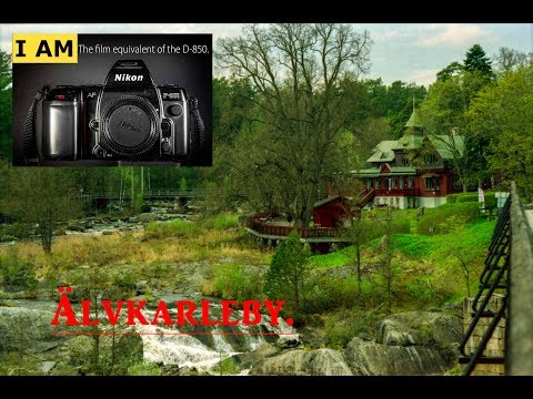 Photo walk Nikon F-801 Älvkarleby (Hydroelectric plant)