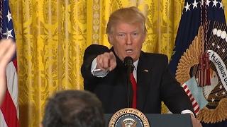 Donald Trump: Höhepunkte der Präsidenten-Show