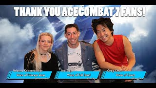 Ace Combat 7 Voice Actors AMA Archived Recording - Ace Combat Voice Cast