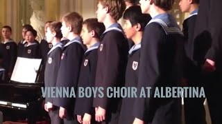 Vienna Boys Choir at the Albertina on May 10th, 2013