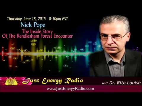 Revealing Insights Into The Rendlesham Forest UFO Encounter - Nick Pope - Just Energy Radio