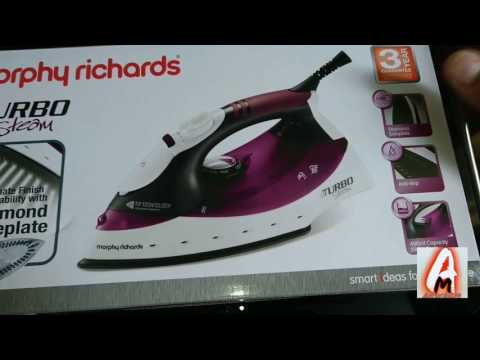 Morphy Richards 40699 Turbosteam Diamond Soleplate Iron (Review)