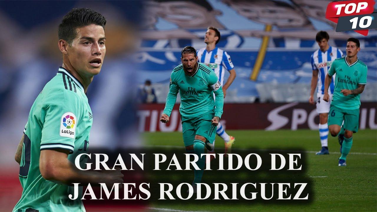 GRAN ACTUACIÓN DE JAMES R0DRIGUEZ