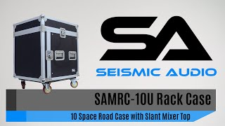 Seismic Audio SAMRC-10U 10 Space Rack Case (Official)