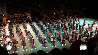 (02) The Royal Edinburgh Military Tattoo 2011  The Massed Pipes and Drums
