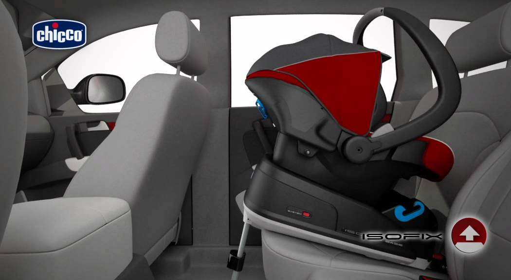 Baby Chicco Car Seat Base Isofix Video De Instalación Youtube