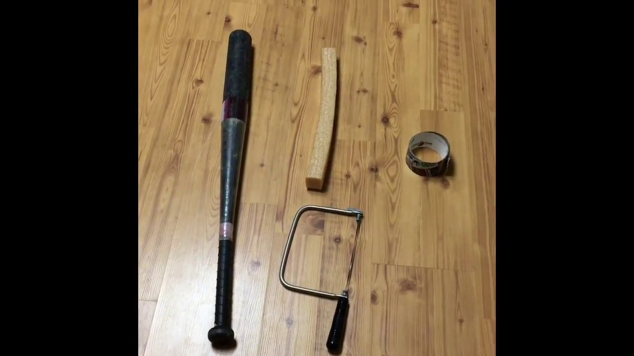 How To Cork A Wiffle Ball Bat