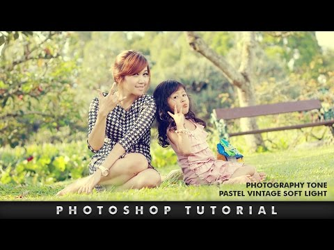 Photoshop Tutorial | How To Make Pastel Effect Photography