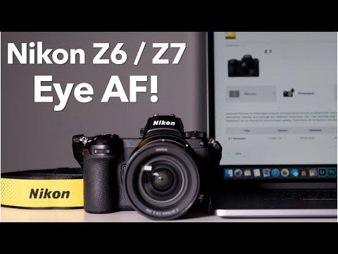 Nikon Z Eye Autofocus Firmware Update!