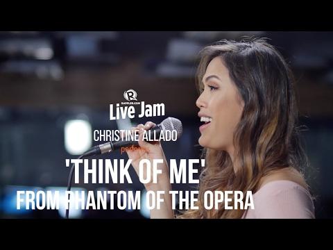 Christine Allado performs