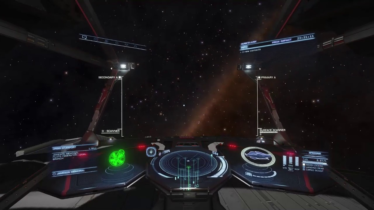 Elite Dangerous Krait Phantom Maneuverability