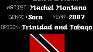 Machel Montano - Down D Road - Trinidad Soca Music