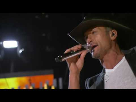 Tim McGraw - Two Lanes of Freedom (2013) - LIVE