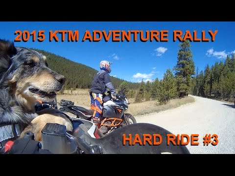 KTM 2015 Adventure Rally Day 1 - Off Road Ride 3 with Deacon