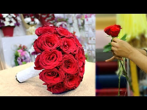 wedding bouquet. how to make wedding bouquet || Bridal bouquet Mp3