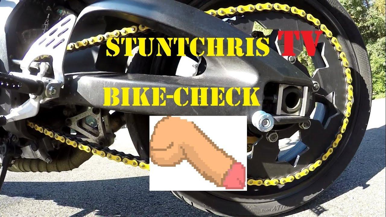StuntChris | Yamaha R6 Stunt | Bike-Check | Umbau am ...