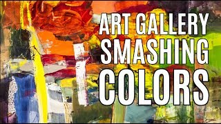 Art Gallery SMASHING COLORS & artist Simone Theelen