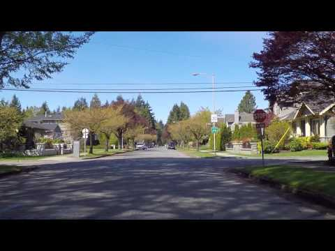 Life in Vancouver BC Canada - Dunbar West Side - Wealthy Comfortable & Boring Area