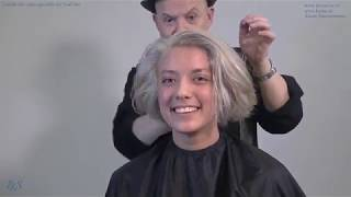 *Step 2* Wiske go's from black colored hair to platinum blond Tutorial by TKS