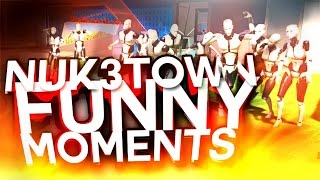 BLACK OPS 3 NUK3TOWN EASTER EGG!! ZOMBIE MANNEQUINS!! Funny Moments (Bo3)